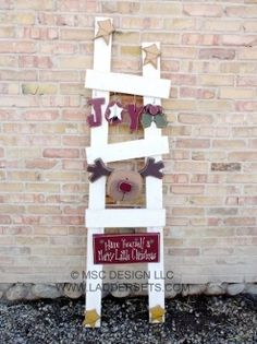 Christmas Set - Interchangeable ladder sets for every holiday and season