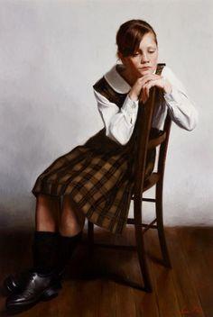 Joshua McPherson: Portrait of Ella :: Archibald Prize 2013 :: Art Gallery NSW