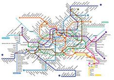 Metro map of Seoul