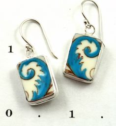 China Baroque...broken china set in jewelry.  I only have one pair, but want a ton more!!