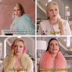 The Chanels // Scream Queens