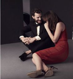 Dakota Johnson and Jamie Dornan ∆∆∆ pinterest @Marie Krull