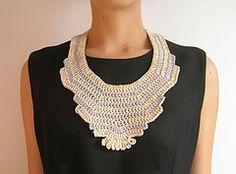 Ravelry: Statement necklace pattern by ChabeGS