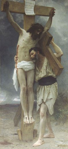 William-Adolphe Bouguereau, Compassion.  Art Experience NYC  www.artexperiencenyc.com