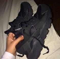 All black huaraches