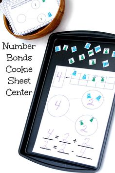 Work on Number Bonds with these fun monster activities with task cards. Great center activity!