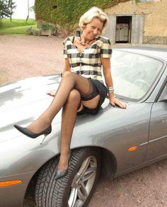 You mature michelle nylon stockings car valuable message