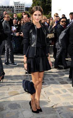 Olivia Palermo...so chic in all black