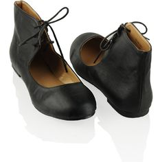 ♕ Selma Ankle Cuff Flat
