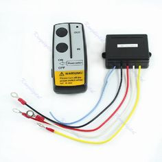 CHUNGHOP 12V Electric Winch Wireless Remote Control Kit For Truck Jeep ATV Warn Ramsey. Yesterday's price: US $13.44 (11.93 EUR). Today's price: US $9.95 (8.77 EUR). Discount: 26%.