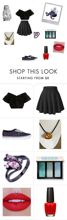 """Ursula"" by moodydee ❤ liked on Polyvore featuring Polaroid, Rachel Comey, Vans, Bobbi Brown Cosmetics, Jeffree Star and OPI"