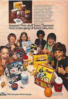 1977 Thermos Lunchbox Magazine Ad by gregg_koenig, via Flickr
