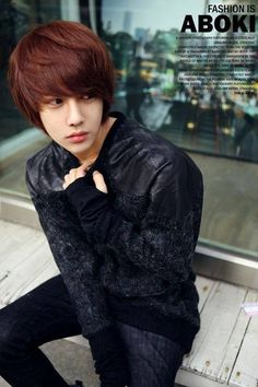 Lee Chi Hoon....Kinda like the lighter hair... :P #LeeChiHoon #Korean #Prettyboy