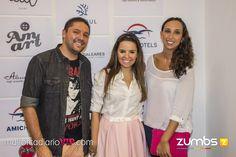 Los guapísimos JuanRa y Marga de la tienda Amart y en el centro la fashion blogger Alba Soto.