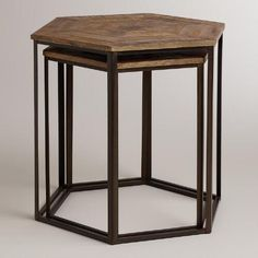 One of my favorite discoveries at WorldMarket.com: Iliana Nesting Tables, Set of 2