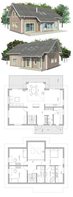 347 best contemporary house plans images in 2019 home plants rh pinterest com