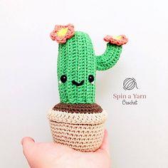 Ravelry: Camilla Cactus Amigurumi pattern by Spin a Yarn Crochet