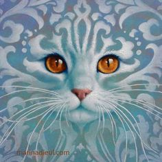 Marina Dieul: Chat turquoise