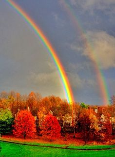 Double Rainbow, Richmond, Virginia