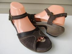 e90e3ae1b887 MERRELL Sandals LUXE Mila Coffee Brown Leather Strappy Women 9 MINT  Merrell   Strappy Merrell
