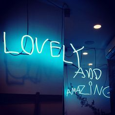 Lovely and amazing neon Neon Words, Love Words, Like Instagram, Instagram Tips, Beyond The Lights, Josie Loves, Give It To Me, How To Get, Sign Lighting