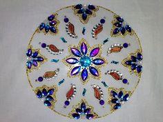 DIY- Diwali Decorations- Floating Rangoli