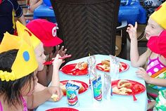 Mario Party - awesome ideas for Jonah's birthday!