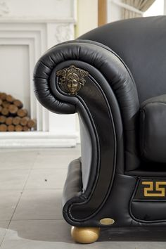 Sofa Beds Collections Benelux Classic Living Versace side leathersofa sofa furniture livingroomfurniture leatherfurniture