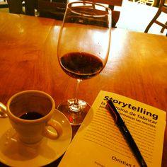 Storytelling, vino y café...