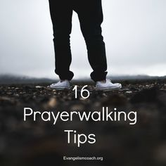 This prayer walking outline mixes prayer, with walking a neighborhood, and inviting God to transform that place and the people who live there.  http://www.evangelismcoach.org/2008/prayer-walking-developing-an-evangelistic-vision/