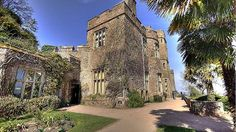 Dunster castle - an ancient castle and country home with dramatic vistas and subtropical gardens