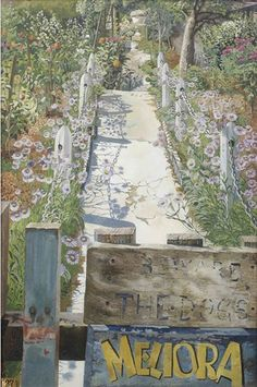 'Garden Path, Cookham Rise', 1949 - Stanley Spencer