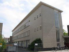 Dudok, dependance Politiebureau, Hilversum 1950-1955