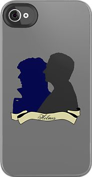 "#BBC #Sherlock ""The Holmes Brothers"" iPod iPhone Case, $42 via RedBubble.Com"