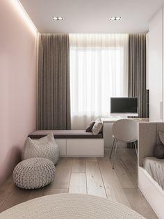 Teen Bedroom Designs, Room Design Bedroom, Small Room Bedroom, Home Room Design, Kids Room Design, Home Decor Bedroom, Modern Home Interior Design, My New Room, House Rooms