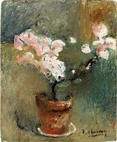 Emilie Charmy, Pot de fleurs on ArtStack #emilie-charmy #art