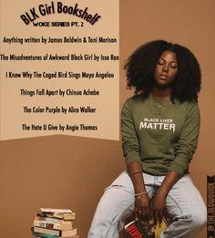 @ møe 🌞⛅🌟 fσℓℓσω мє for more! Reading Lists, Book Lists, Girls Bookshelf, Awkward Black Girl, Good Books, Books To Read, Girls Life, Black Power, Me Time