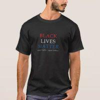 BLACK LIVES MATTER MENS T SHIRT