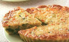 Si se trata de recetas ligeras, aquí tenemos una muy original. Tarta de ricotta y verdurassin harinas, ideal para las personas con un régimen dietétic
