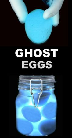 Ghost Eggs Experiement - A Toddler Project - Science Kid Science, Kids Science Fair Projects, Science Projects For Kids, Science Crafts, Science Activities For Kids, Preschool Science, Stem Activities, Project For Kids, Kids Crafts