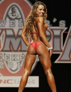 Nathalia Melo known for some of the best glutes in the fitness industry - my goal  !