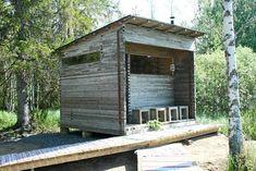 Remodel your cottage sauna – 6 individual ideas! Sauna House, Tiny House Cabin, Mobile Sauna, Outdoor Sauna, Sauna Design, Yard Furniture, Tadelakt, Brick Lane, Saunas