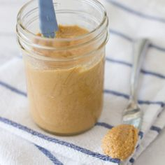 Ever made your own Peanut Butter? It's so simple and actually better than the store-bought stuff! Healthier too!