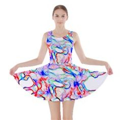 Soul Colour Light Skater Dresses by InsanityExpressedSuperStore