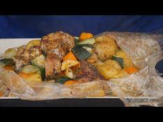 Szybki Obiad z Worka ! / Oddaszfartucha - YouTube Lunch Recipes, Bread Recipes, Turkey, Chicken, Meat, Dinner, Youtube, Food, Recipe