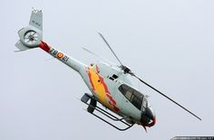 """""""Patrulla ASPA"""" are the current Spanish Air Force helicopter aerobatic display team, flying with five Eurocopter EC-120 Colibri helicopters.The Patrulla ASPA aerobatic team was formed on Sept 23, 2003 at the Armilla Air Base.The first demonstration of the new team was on May 16, 2004 in Sevilla and ..."""