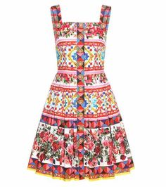Printed cotton dress | Dolce & Gabbana