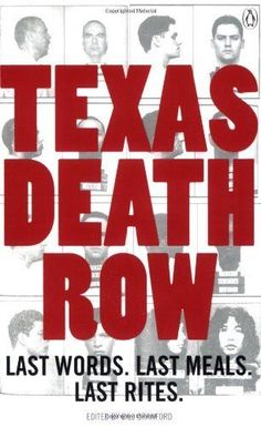 Texas Death Row, Crawford, Bill Paperback Book... I have this book really interesting read