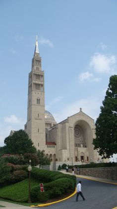 Basilica of the National Shrine of the Immaculate Conception, Washington, DC  (Joe Cruz photo).