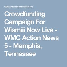 Crowdfunding Campaign For Wismiii Now Live - WMC Action News 5 - Memphis, Tennessee